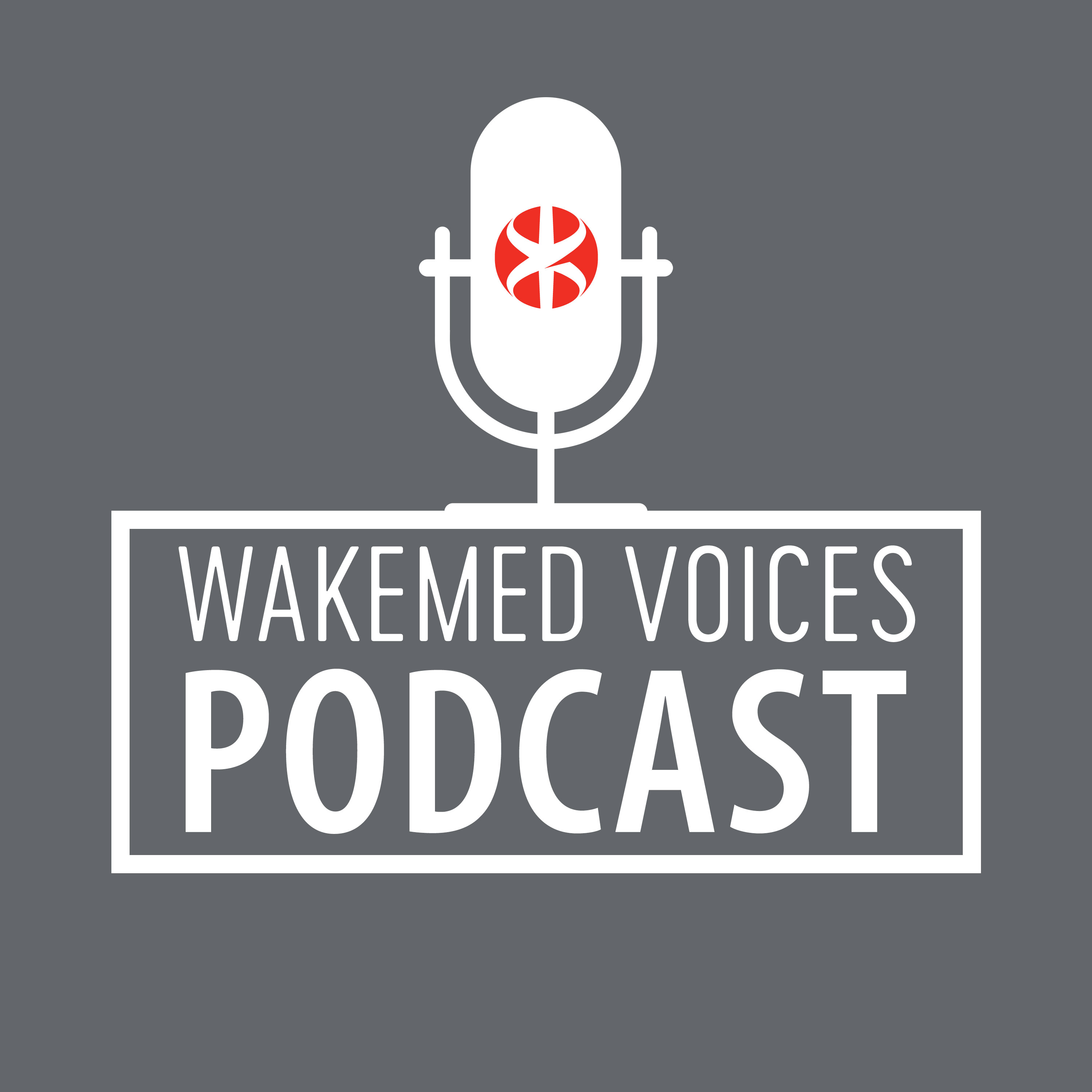 WakeMed Voices Podcast Logo